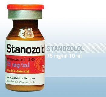 Winstrol Stanozolol 75mgs/10ML LA PHARMA