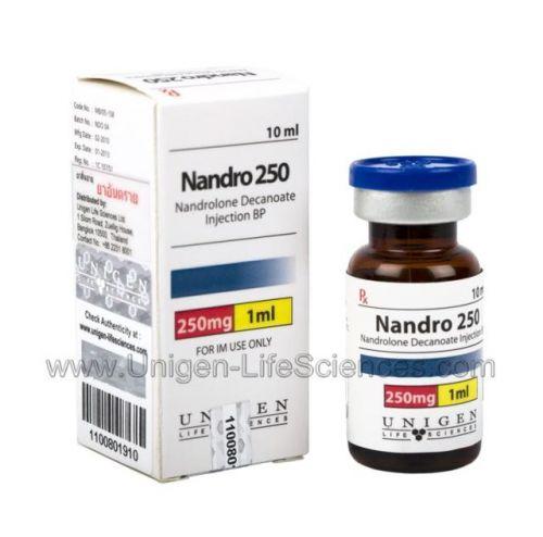 Unigen Nandro 250mgs (Nandrolona Decanoato)